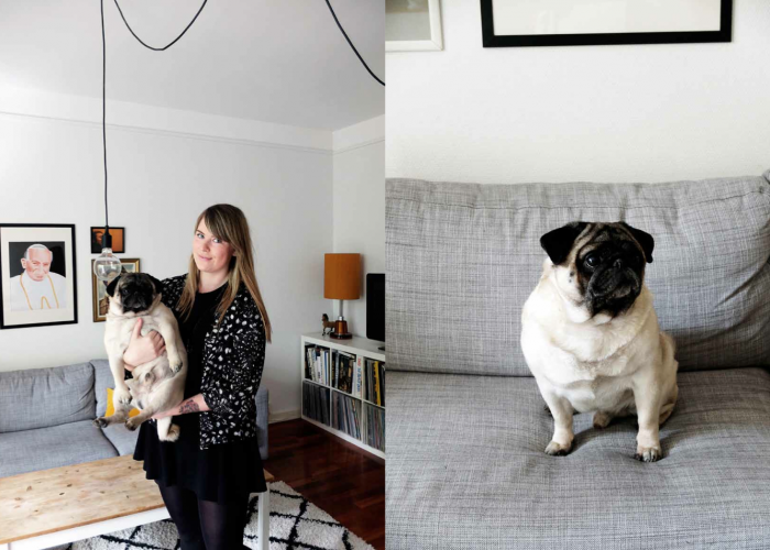 At home: Silje Alger