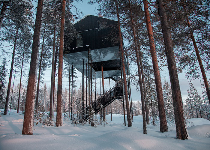 New cabin at the Treehotel
